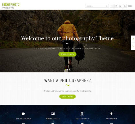 Theme WordPress Eightphoto Responsive Free