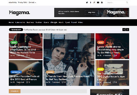 Magzma theme WordPress Free