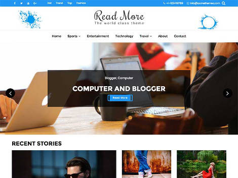 Read More WordPress themes free