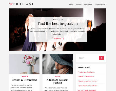 Brilliant Themes WordPress Free