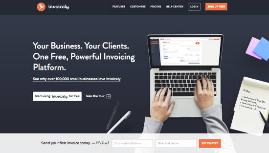 Invoicely Invoice Online Gratis