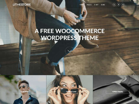 Theme WordPress LitheStore Responsive Free