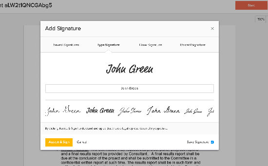 eversign electronic signatures
