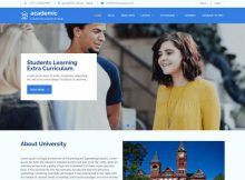 Theme WordPress Academic Responsive Free
