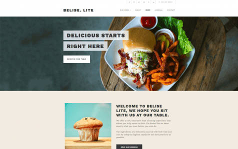 Theme WordPress Belise Lite Responsive Free