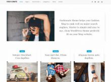 Theme WordPress Fashionate Responsive Free