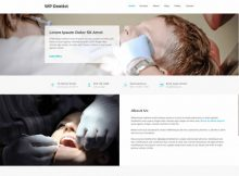 Theme WordPress WP Dentist Responsive Free