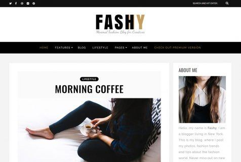 Fashy Theme WordPress Free