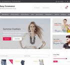 Theme WordPress Easy Commerce Free
