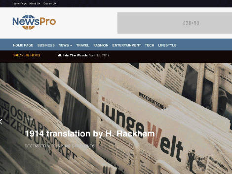 Theme WordPress NewsPro Responsive Free