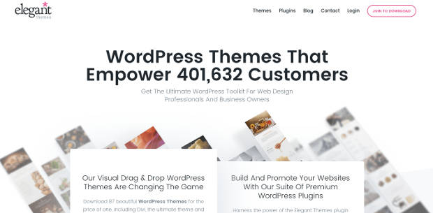 membeli tema wordpress di Eleganthemes
