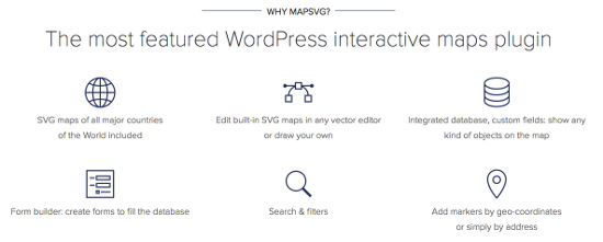 MapSVG Features