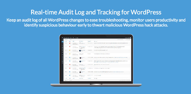 WP Security Audit Log monitoring keamanan WordPress