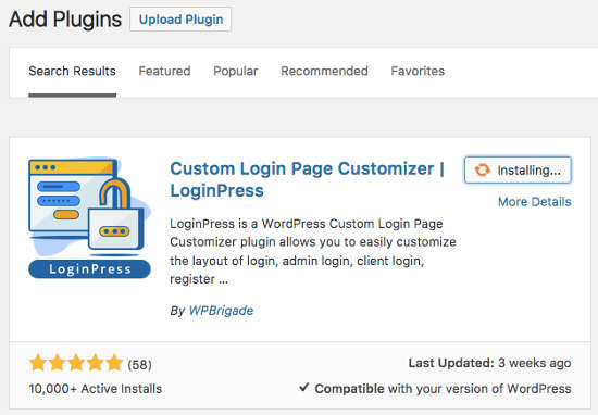 LoginPress Plugin
