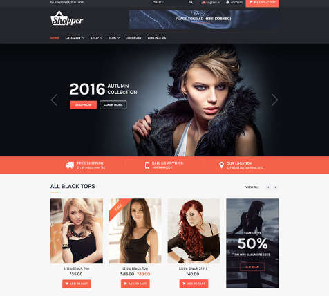 Theme WordPress Tyche Responsive Free