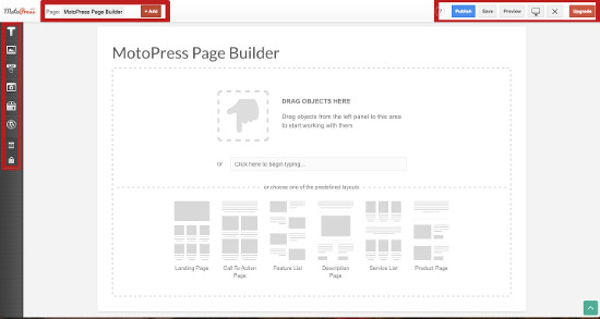 Editor Visual Builder MotoPress
