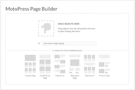 MotoPress Content Editor Visual Builder Start