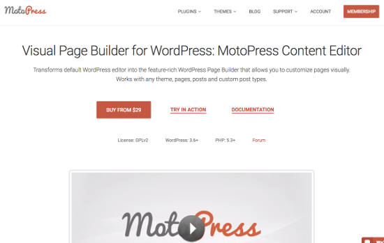 MotoPress Page Builder Plugin Pro