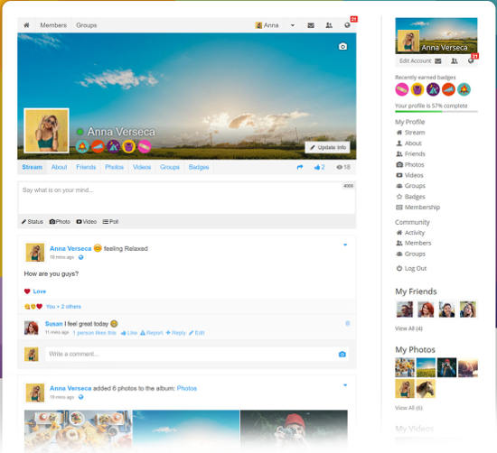 membuat jejaring sosial PeepSo Social Network for WordPress
