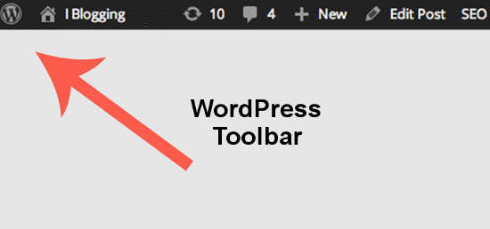 WordPress Toolbar Trik