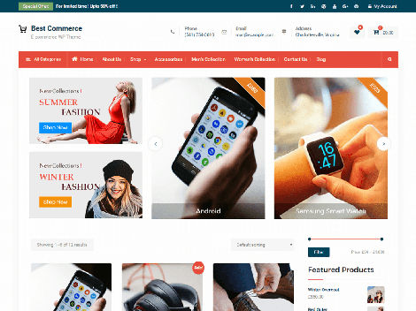 Theme WordPress Best Commerce Free