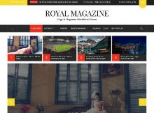 Theme WordPress Royal Magazine Free