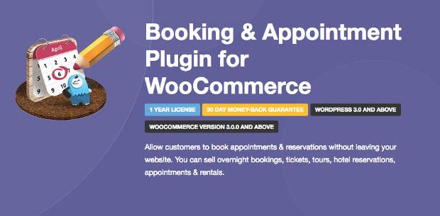 Booking Appointment WooCommerce Plugin