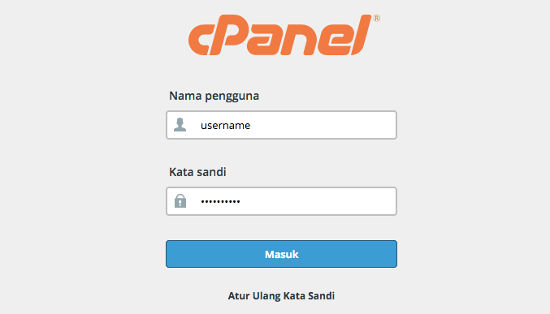 Cara Backup WordPress Login cPanel