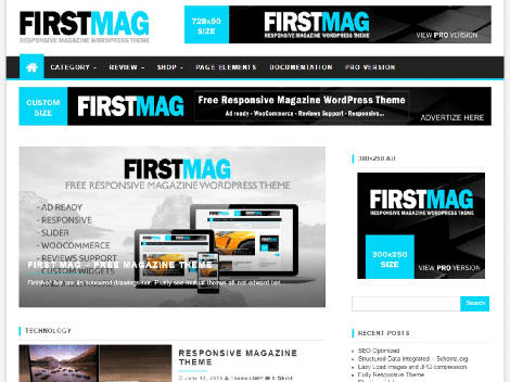 Theme First Mag Responsive Free