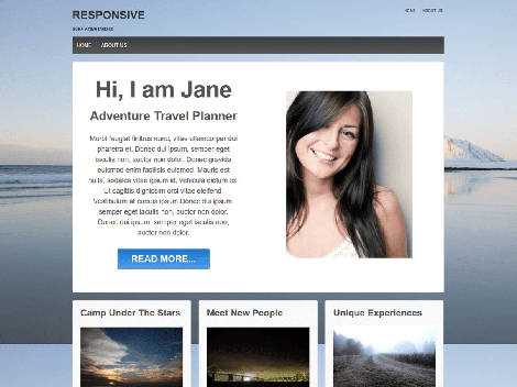 Theme WordPress Responsive Free