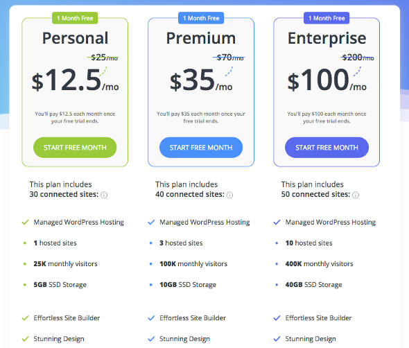 10web All in one WordPress Price