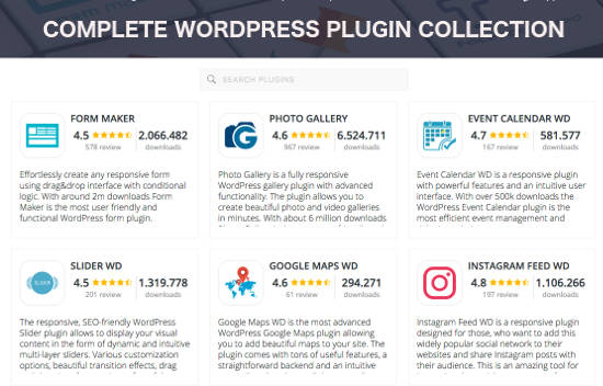 10web Plugins WordPress Premium