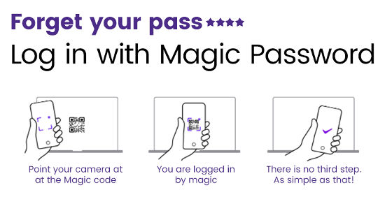 Magic Password WordPress