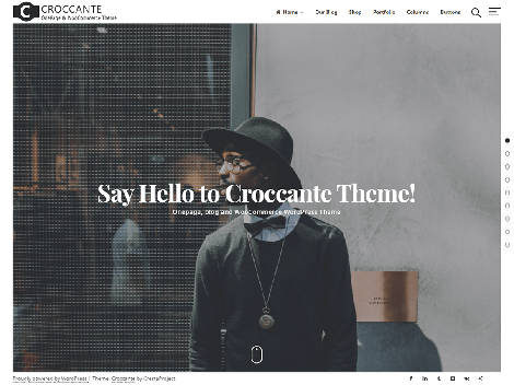 Theme WordPress Croccante Responsive Free
