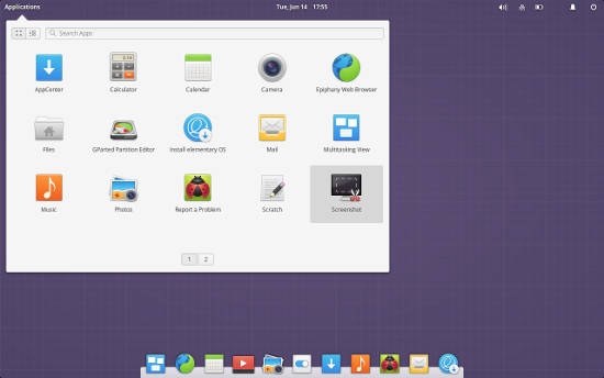 Distro Linux Elemtary OS