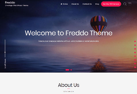 Freddo Responsive Free WordPress Theme