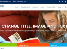 Education Base Theme WordPress Cover