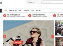 Online Shop Theme WordPress Toko Online WooCommerce cover
