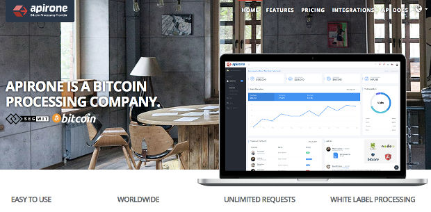 Plugin Apirone Bitcoin WordPress