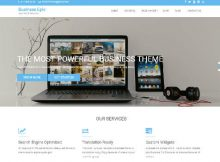 Theme WordPress Business Epic Responsive Gratis