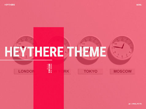 Theme WordPress HEYTHERE Responsive Free