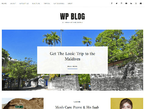 Theme WordPress WP Blog Responsive Free