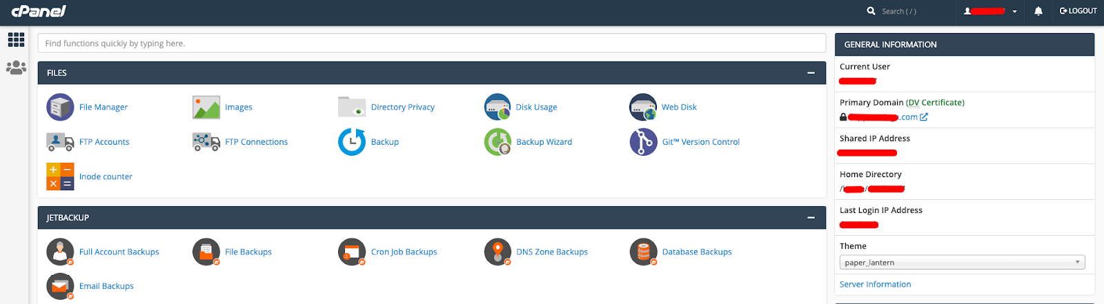 cPanel Niagahoster 4