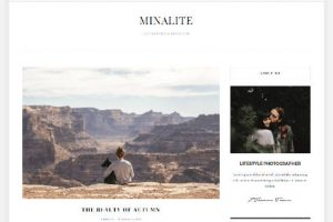 Theme WordPress Minalite Responsive Free