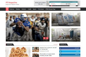 Theme WordPress PT Magazine Responsive Free