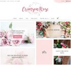 Theme WordPress Crimson Rose Responsive Free