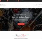 Theme WordPress Gourmand Responsive Free