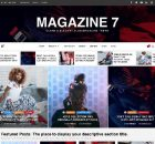 Theme WordPress Magazine 7 Responsive Free