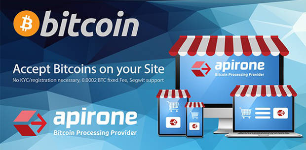 Apirone BitCoin WordPress WooCommerce