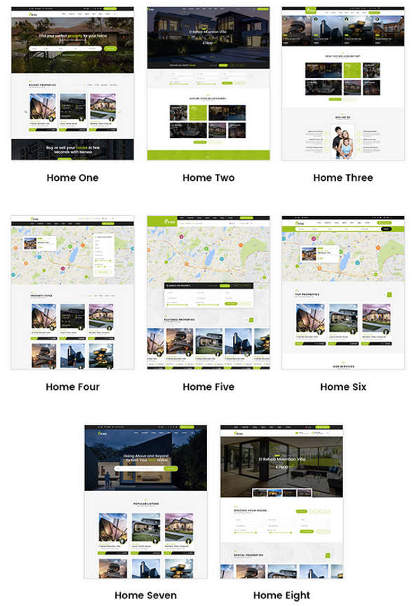 Beena WordPress Theme for real estate
